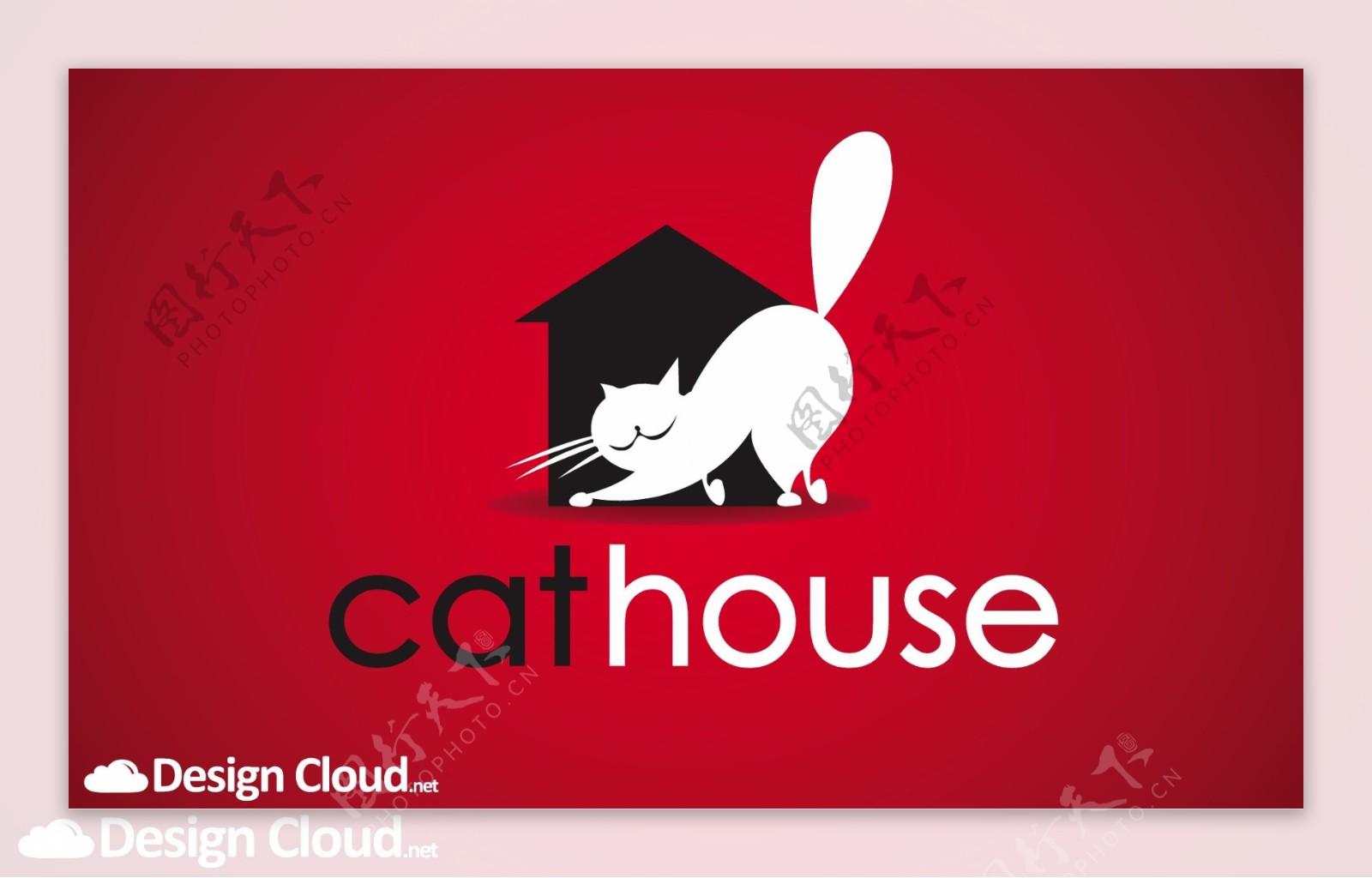 酷猫家猫的标志