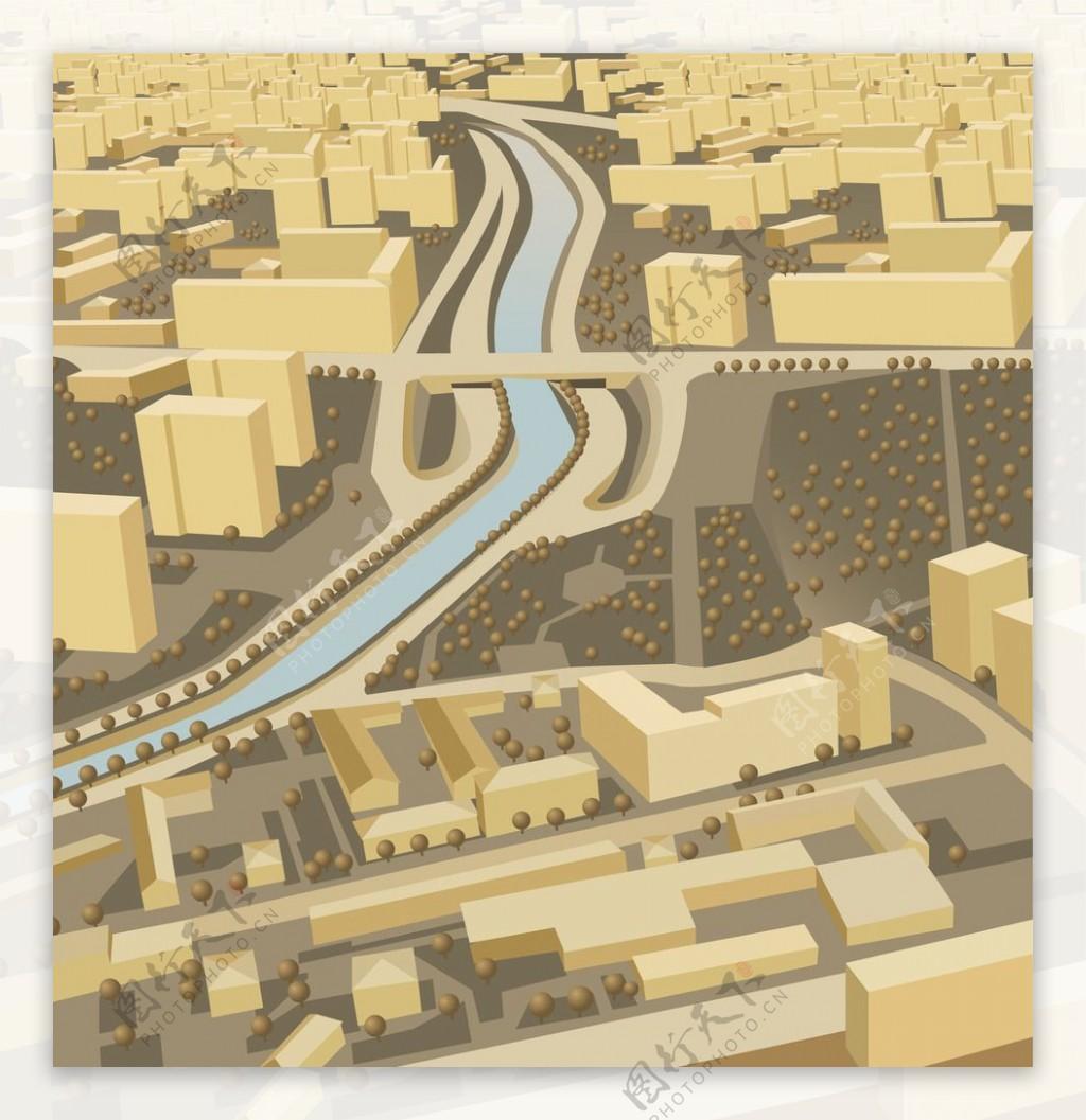 微型城市图片